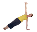 Yoga Side Plank Pose, Vasisthasana