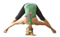 Yoga Wide Legged Forward Bend Pose