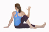 Yoga Marichi's III Pose, Seated Twist Pose