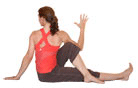 Half Lord of the Fishes Pose, Ardha Matsyendrasana