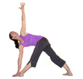 Revolved Triangle Pose, Parivrtta Trikonasana