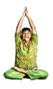 Yoga Lion Pose, Yoga Simhasana Pose