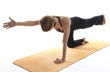 Yoga Sun Bird Pose, Yoga Parsva Balasana Pose